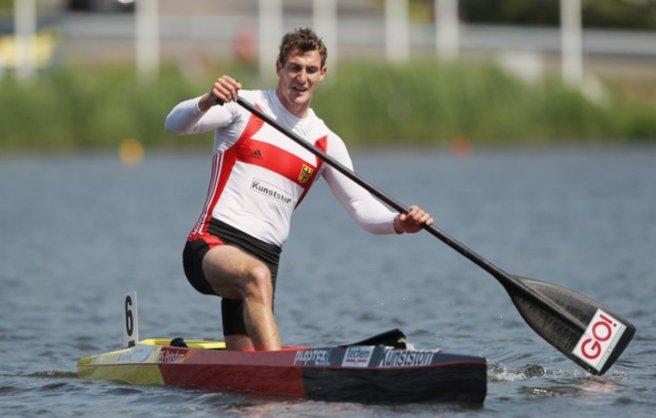 Flatwater sprint c1 canoe